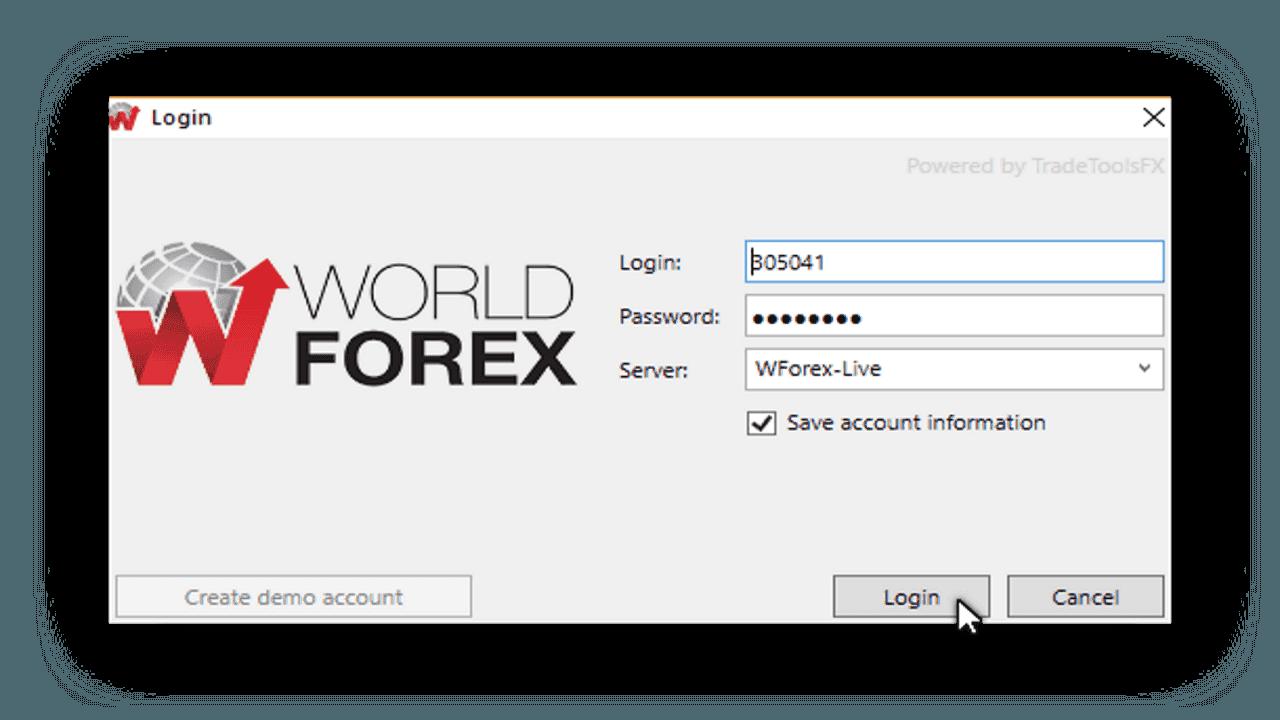 Торговая платформа Wforex 1